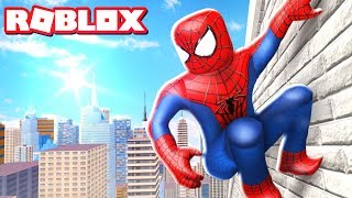SPIDER-MAN HOMECOMING MOVIE EN ROBLOX