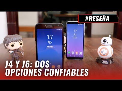 Samsung Galaxy J4 y J6 2018: review en español