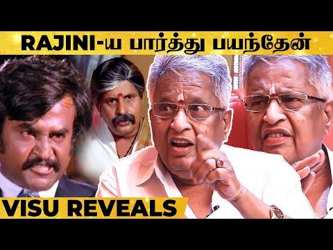 எல்லாரும் Rajini-ய வேணாம்னு சொன்னாங்க.. - Visu Breaks Untold Stories! | Super Exclusive Interview