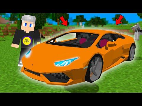 Я Угнал Ламбу Влада А4 в Майнкрафте ! Моды в Minecraft
