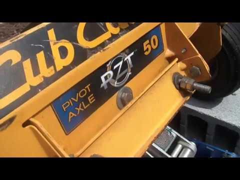 hot wiring a kubota diesel starter, cub cadet rzt50 deck issue,
