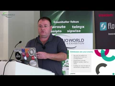 Kamailio World 2017: Scaling VoIP – The AWS Advantage
