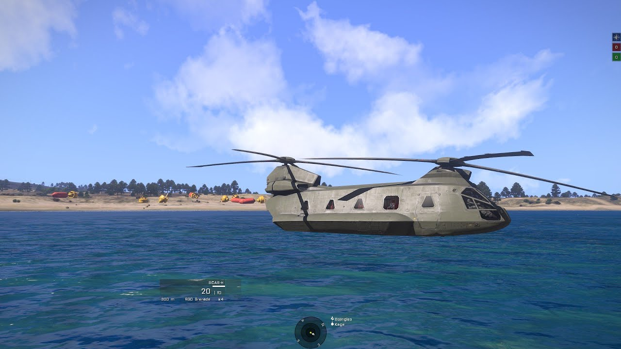 arma 2 how to make boats float