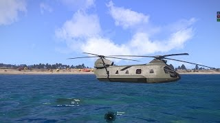 Arma 3 Helicopters DLC: Does the Huron Float Like a Boat?