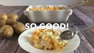 Easy Loaded Baked Potato Casserole