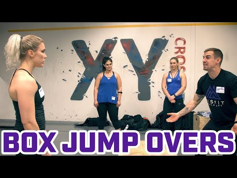 Finding a Box Jump Over Style That Works For You