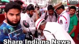 Traffic Police To Checking Helmets Strict Rules And Valid Driving Licence | Hyderabad 2017.