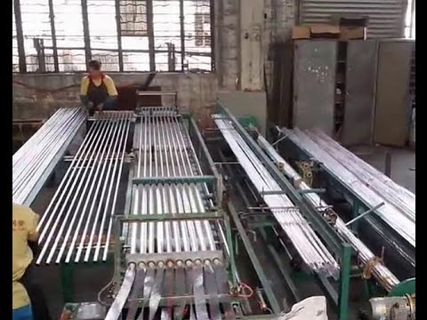 automatic steel pipe&tube packaging machine, pipe bag packaging,bagging machine