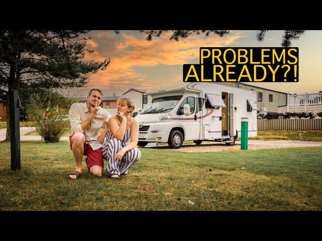 wild camping OR campsites?!   Vanlife UK NE250 Roadtrip