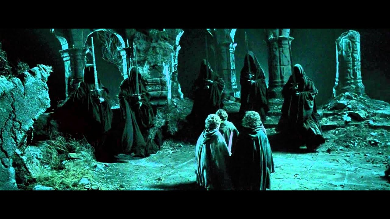 Aragorn vs Nazgul LOTR 1.06 [HD 1080p] - YouTube