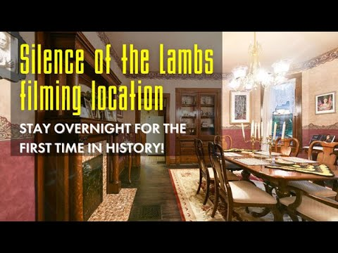 Stay Overnight at The Silence of the Lambs filming location   INSIDE Buffalo Bill's House