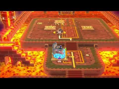 Guia Super Mario 3D World 100% (5 estrellas) Mundo 7 Castillo