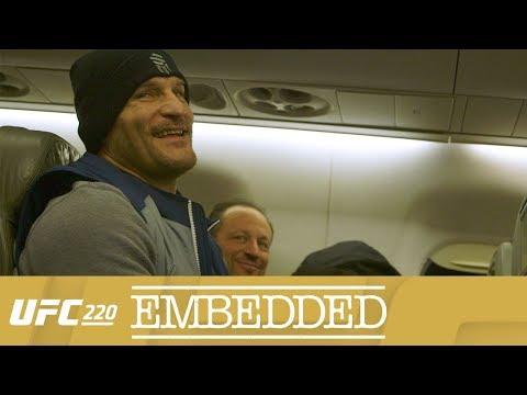 UFC 220 Embedded: Vlog Series - Episode 3