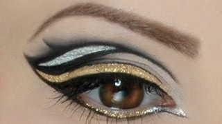 Make up artisten Schule -  MAF - Silver bearing Gold Make Up