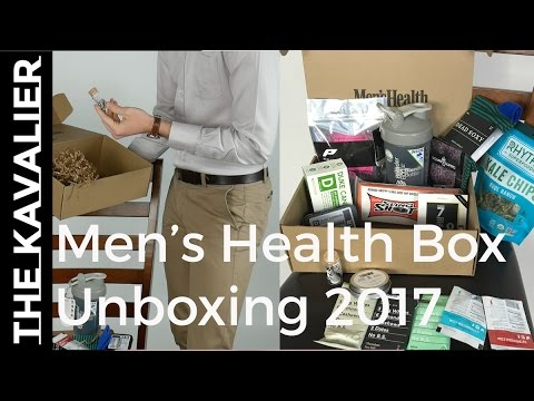 Mens Health Box Q1 2017 Unboxing | Fitness, Style, Nutrition Subscription