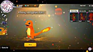 Tik Tok Free Fire | Khi Pet Pokemon Gia Nhập Free Fire | Ngọc K9