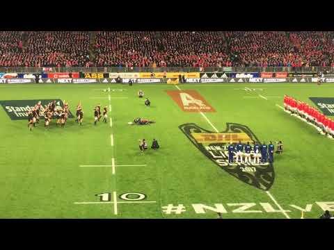 British and Irish Lions vs All Blacks 1st test Haka