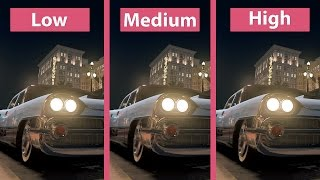 Mafia 3 – PC Low vs. Medium vs. High detailed Graphics Comparison 1440p