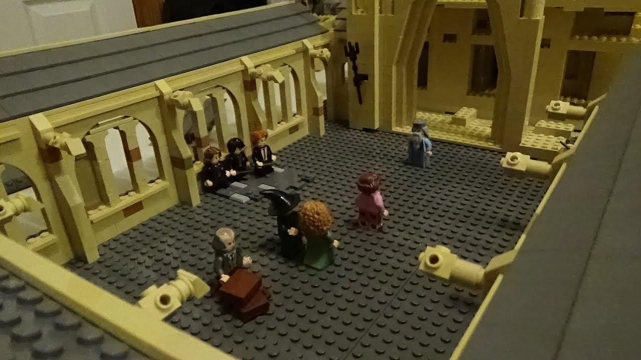 Download Building Hogwarts 11 Starting the Entrance Courtyard
