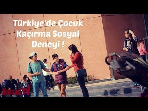 Türkiye'de Çocuk Kaçırma Sosyal Deneyi !   KursadTV