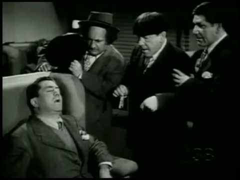 Last Appearance of Curly and The Only 4 Stooges Appearance