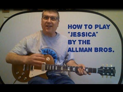Jessica (Allman Brothers) Guitar Lesson