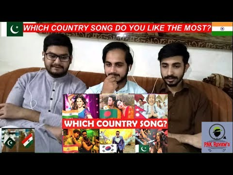 Pakistani Reaction On Which Country Song Do You Like The Most? #4 ||PAK Review's||
