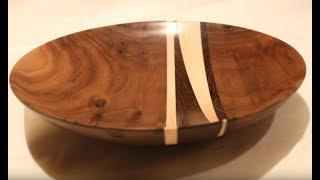 Woodturning - The Wedge Bowl