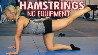 Best Hamstring Exercises with NO Equipment