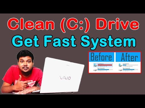 How To Solve C Drive Full Problem Windows | C Drive Kaise Khali Kare | Clean C Drive Windows 7