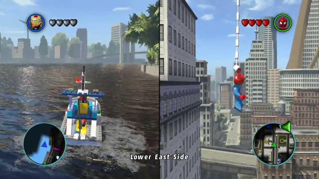 marvel lego ps4 gameplay