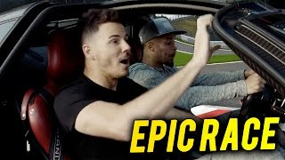 F2FREESTYLERS VS YOUTUBERS | EPIC RACE