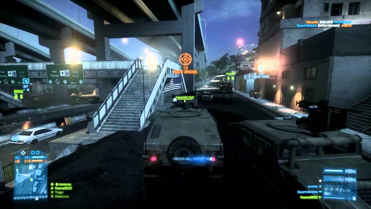 Battlefield 3 Online Gameplay 720p HD PC - YouTube