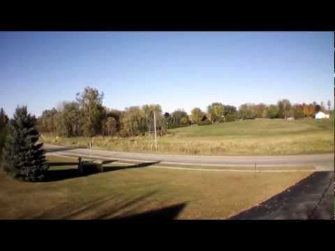 Dean's Photo - AR Drone 2.0 - Greenleaf, Wisconsin Church & Cemetery