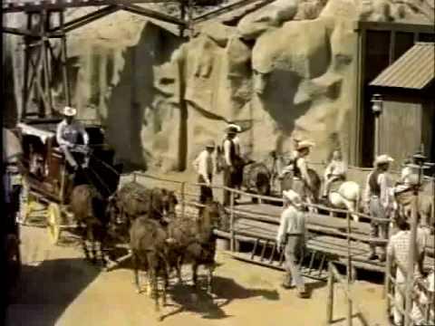 Conestoga Wagons Ride at Disneyland