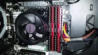 Corsair LPX Vengeance 8GB RAM 3000Mhz Unboxing & Install - Budget Gaming PC - 16GB Total