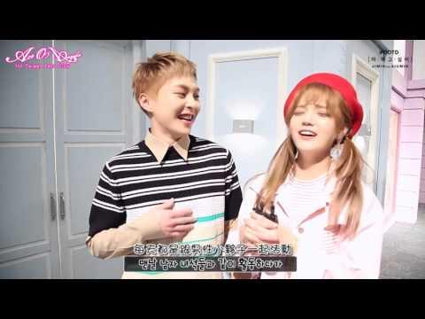 【AOATW】'Call You Bae' 智珉 X Xiumin , '파워달달' MV 맛보기 (韓繁中)