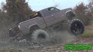 mud bogging chevys at blue lake