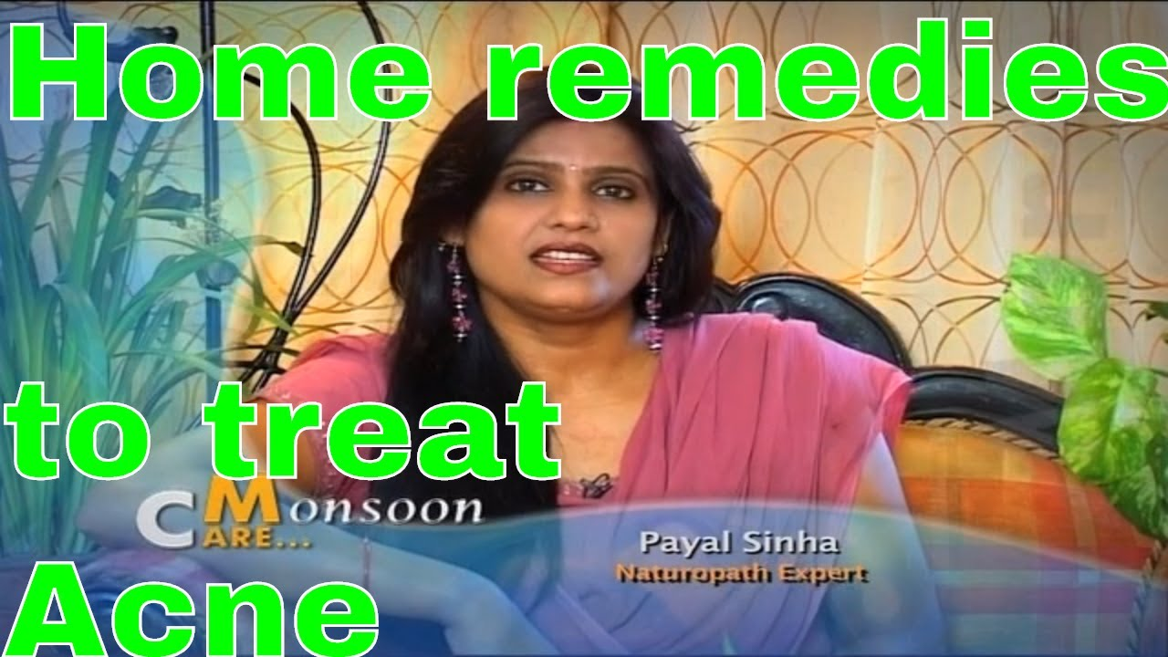 Skin care tips by Payal Sinha how to treat Acne at home चेहरे