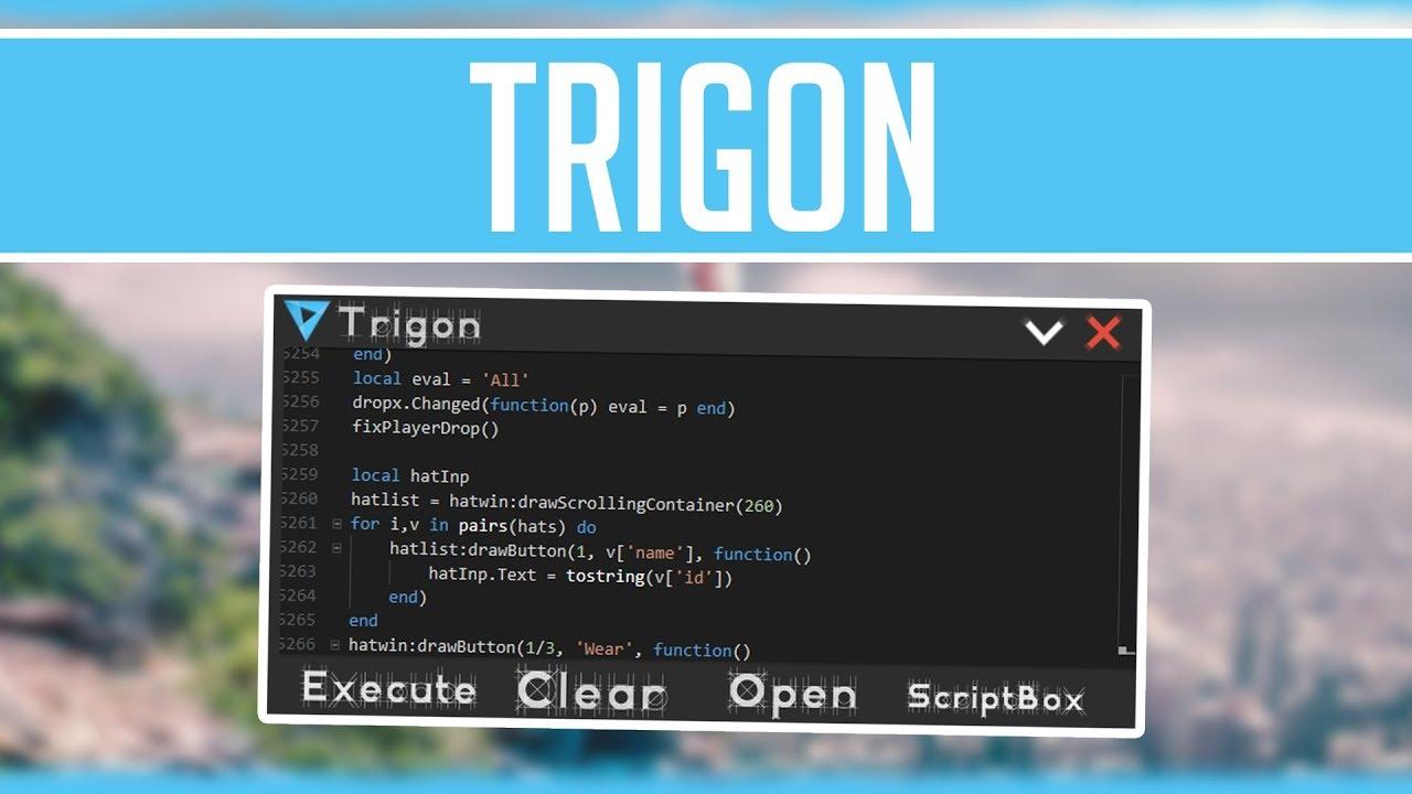 Trigon Op Roblox Hack Exploit Insane Script Executor Fe