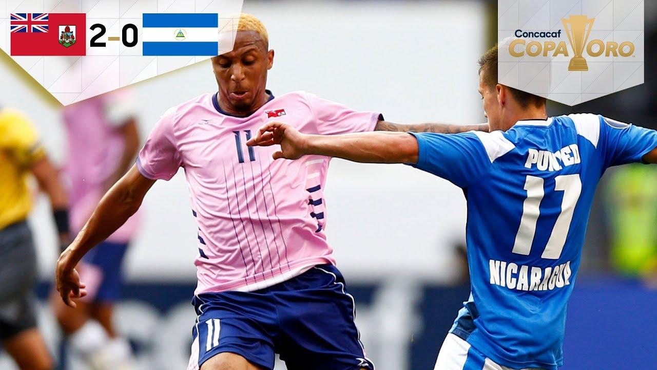 ¡Victoria histórica! | Bermudas 2 - 0 Nicaragua | Copa Oro - Grupo B | Televisa Deportes