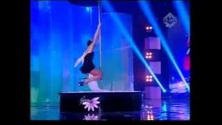 Pole Dance Performance on Indonesia Mencari Bakat 3