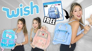 Back to School Backpacks From Wish!