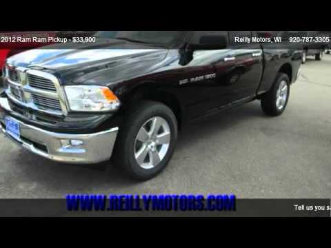 2012 Ram Ram Pickup Big Horn For Sale In Wautoma Wi