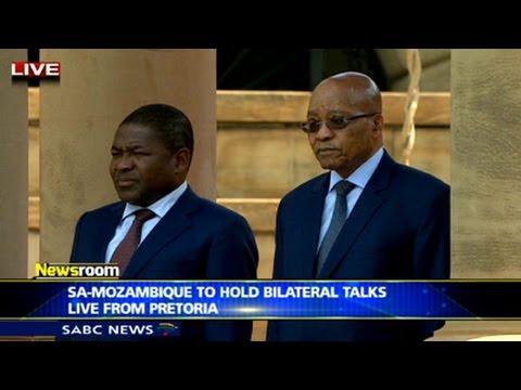 SA-Mozambique hold bilateral talks
