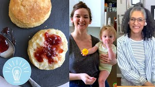 Flaky Buttermilk Biscuits from Carla Hall  Genius Recipes