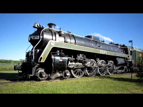 CN 6060 Steam Engine - Whistle