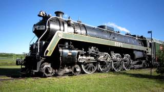 CN 6060 Steam Engine - Whistle