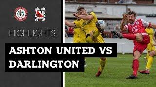 Ashton United 2-2 Darlington - Vanarama National League North - 2018/19