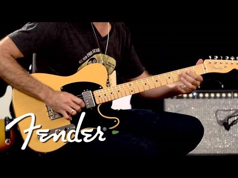 Fender Vintage Hot Rod '50s Telecaster Demo | Fender